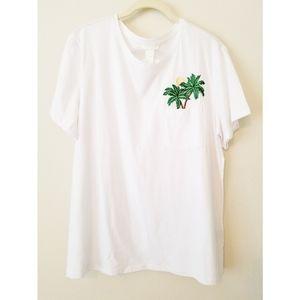 🌴 H&M | Palm Tree Tee